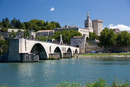 The Bridge at Avignon, France