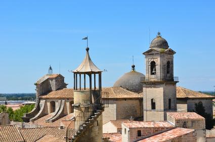 Tourelle et clochers de Beaucaire